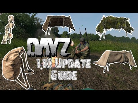 DayZ NEW UPDATE CRAFTING GUIDE|How to 1.10|TIPS AND TRICKS