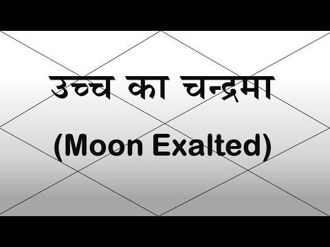 Moon Exalted (Uch ka Chandrama) | Vedic Astrology | Hindi