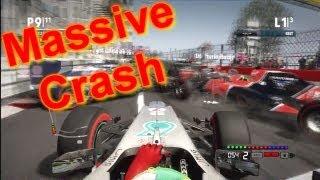 Massive F1 2012 Game Crash!