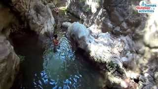 River trekking, cave, rappel day