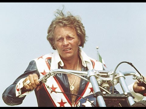 Evil Knievel (Entire old 70's movie) - George Hamilton
