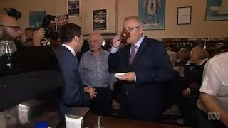 Pellegrini's reopens with Scott Morrison and Matthew Guy in attendance