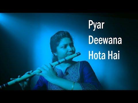 Pyar Deewana Hota Hai || Flute Cover || Instrumental || Ankita Nath
