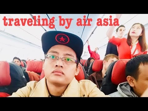 Traveling By Air Asia Airlines  From Kuala lumpur To Kathmandu