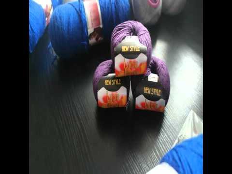 Мои вязунчики. Пряжа Madame Tricote Camilla, Камтекс Вискозный шелк, Сеам Hawai, RAM SUNNY.