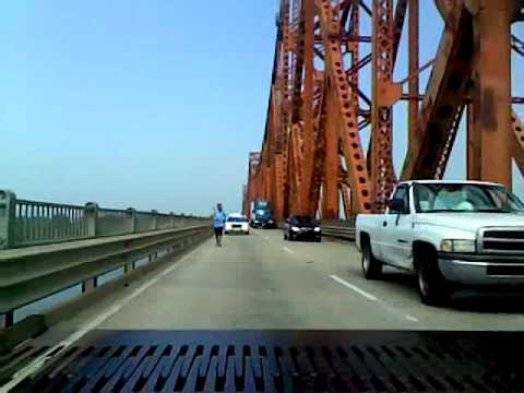 Day 102- Police Escort over Mississippi River in Baton Rouge, LA
