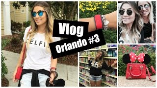 VLOG ORLANDO #3 - Hollywood Studios, Shopping e Walmart...