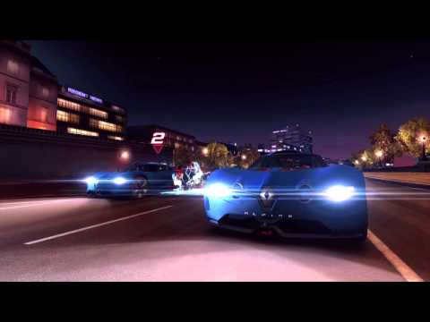"Alpine A110-50 in the game ""Asphalt 7 Heat"" by Gameloft"