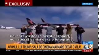"Avionul lu"" tata TRUMP Boeing 757"