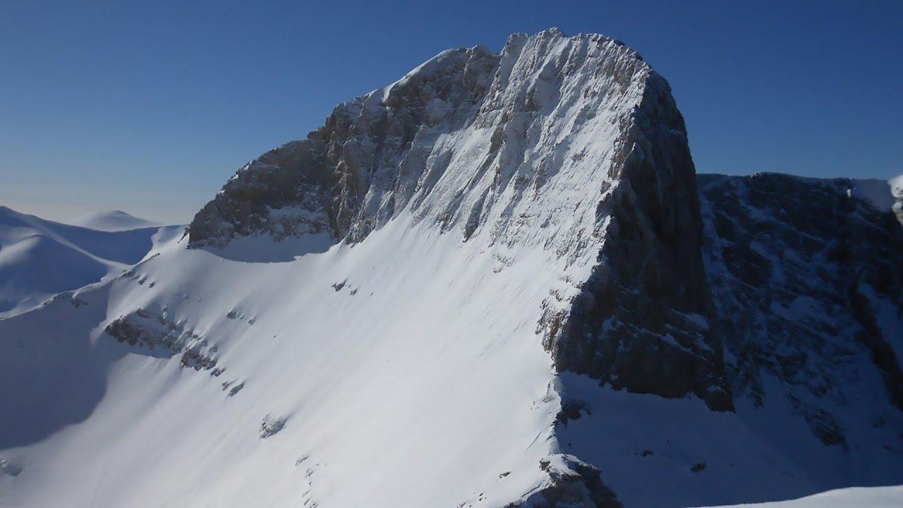 Mount Olympus - Όλυμπος, Μύτικας (drone FHD) - YouTube