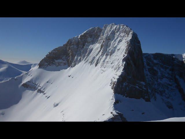 Mount Olympus - Όλυμπος, Μύτικας (drone FHD)