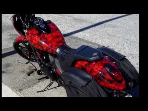 Immersed FX Hydrographics Vulcan Motorcycle in ShawNaughty Hades