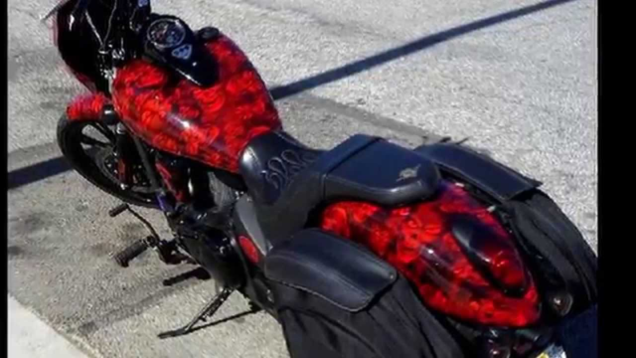 Immersed Fx Hydrographics Vulcan Motorcycle In Shawnaughty