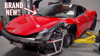 The Ferrari 458 FINALLY gets Glass!