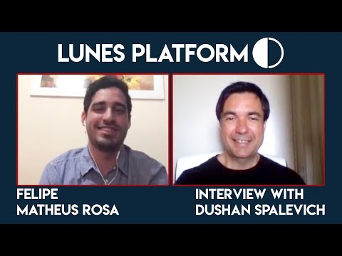 Lunes Platform CD Fellipe Siqueira Interview With Dushan Spalevich for ICO TV VIDEO