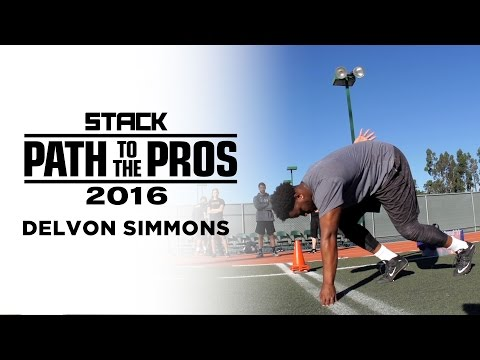 Path to the Pros 2016: The Power of Delvon Simmons