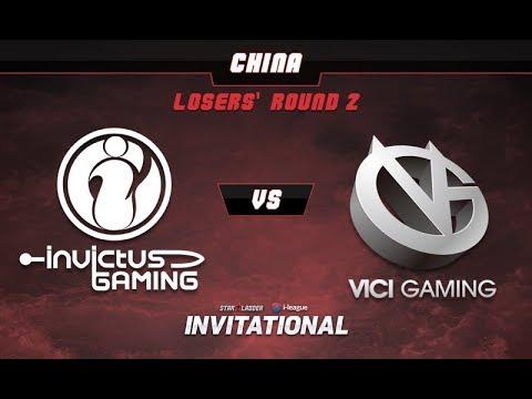 iG vs VG Game 1 - SL-i Invitational: CN Qualifier Losers' Round 2 -@LuminousInverse @tsunami643