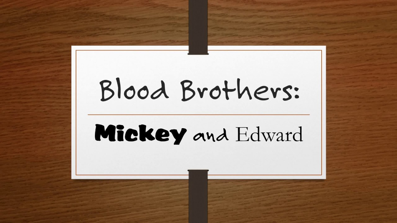 blood cousons mickey quotes