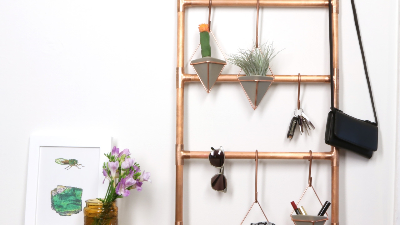 DIY Copper Ladder
