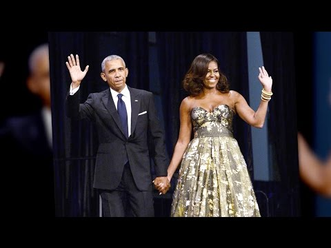 The Obamas Vacation at Richard Branson's Private Island in Paradise | Splash News TV