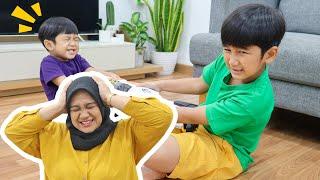 Mama Pusing Ziyan Dan Kyo Rebutan Terus Untung Ada Yohoo Ice Cup