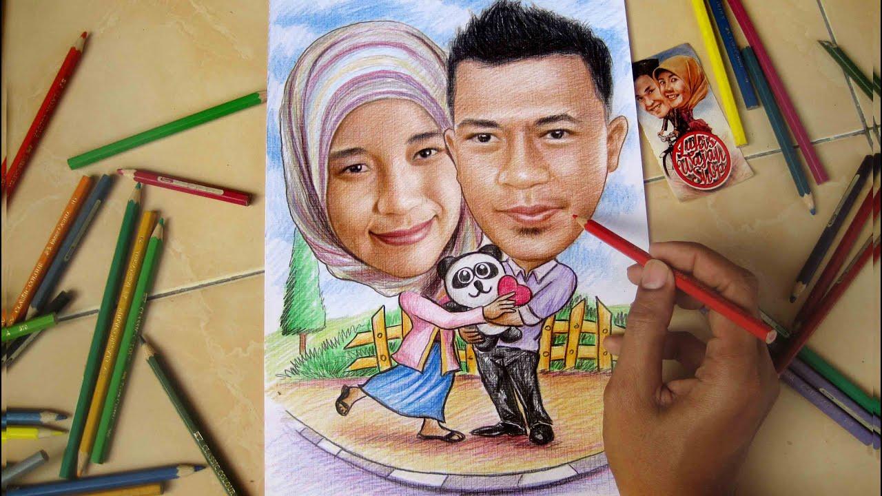 420 Gambar Romantisme Dengan Pensil HD