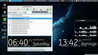 Cómo instalar Conky Manager en Ubuntu 14.04 o derivados