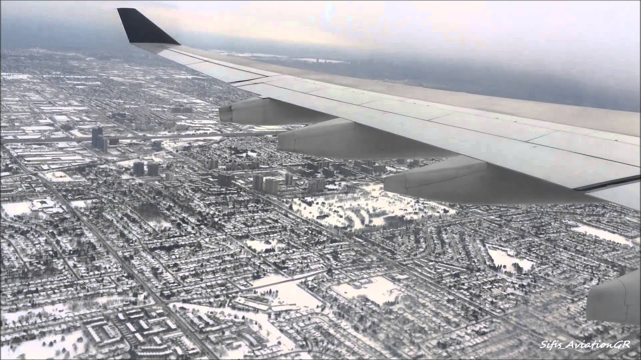 Fsx Wallpaper Hd Air Canada A330 300 Amazing Snowy Landing At Toronto