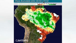 Centro-norte do BR continua com muita instabilidade