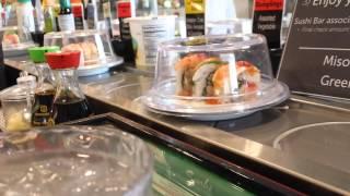 Sushi parade at Kroger in Carmel IN