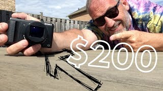 Sony DSC HX50 compact camera review in reply to Casey Neistat