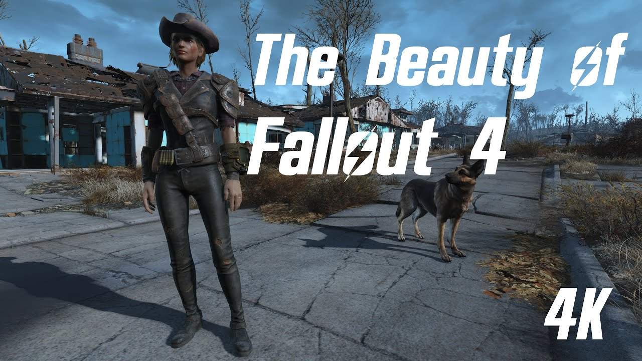 The Beauty of Fallout 4 [4K]
