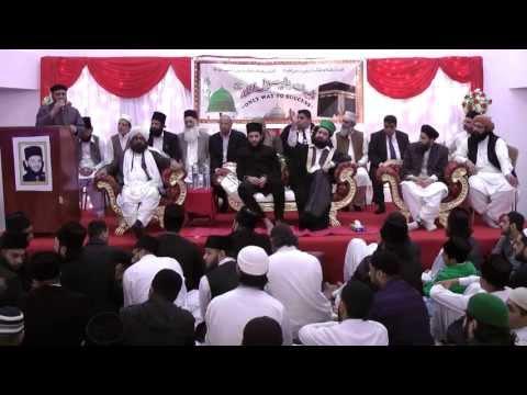 04/10/13 Naat by Sayed Altaf Hussain Shah Kazmi Sahib Milaad-E-Paak in Leyton ...