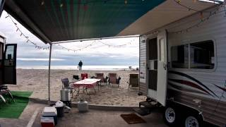Time Lapse: Thanksgiving at Silver Strand State Beach in Coronado, California