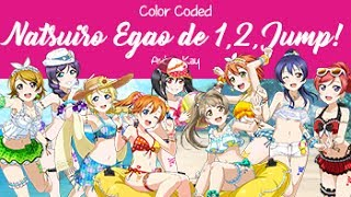 Video Natsuiro Egao de 1,2,Jump! • Color Coded • μ's download MP3, 3GP, MP4, WEBM, AVI, FLV Agustus 2018