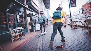 Longboard Freestyle in London