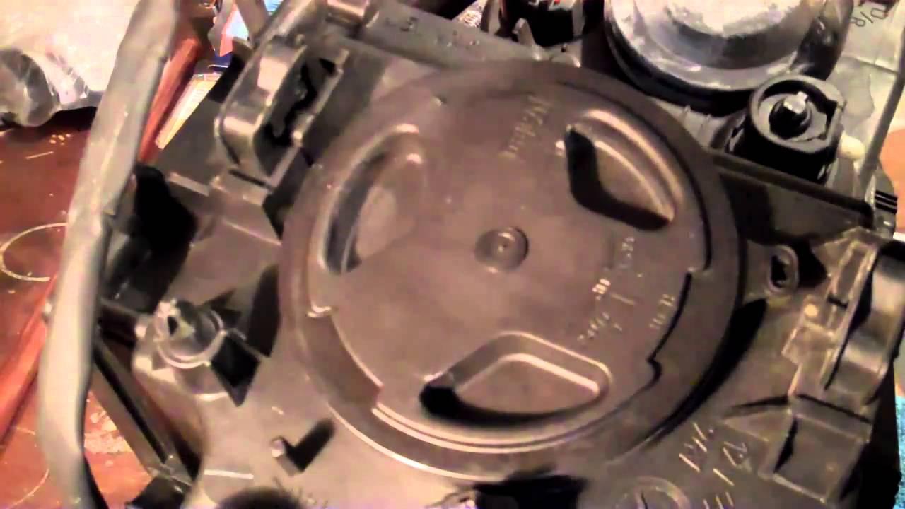 Led Halogen Bulb Diagram Trane Electric Heat Wiring Volvo Xc90 Headlight Low-beam Replacement - Youtube