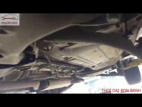 Bảo dưỡng gầm ô tô, sửa chữa tiếng kêu ở gầm xe hyundai santafe