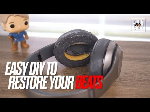 Restoring Your Beats Headphones [A DIY Project] — Replace your Earpads