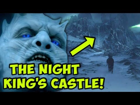 How The Night King's Castle Could Play A Major Role In Season 8! THEORY