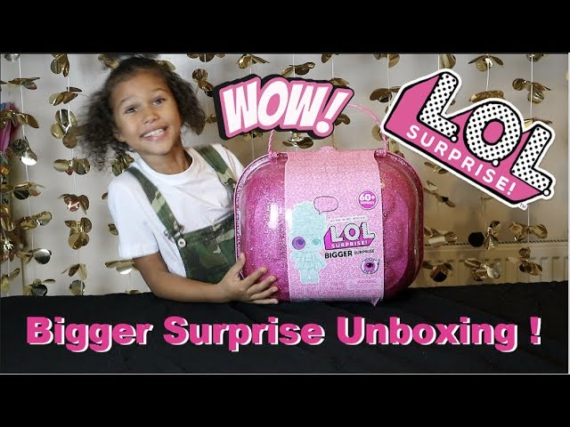UNBOXING the LOL Surprise Bigger Surprise with 60+ Surprises | Real Kid Review