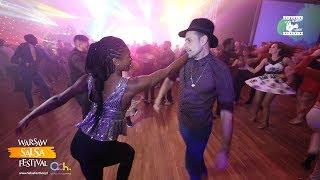 Nikos & Inès - Salsa Social Dancing @ WARSAW SALSA FESTIVAL 2018