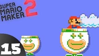 Mario Maker 2 Story mode [BLIND] pt 15 - Reverse Slime Climb