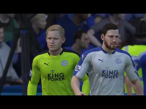 Leicester City FC vs Chelsea FC (FIFA 16, Full manual controller settings)