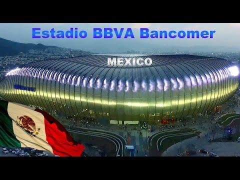 Gigante de Acero: El Majestuoso Estadio BBVA Bancomer de Monterrey, Mexico