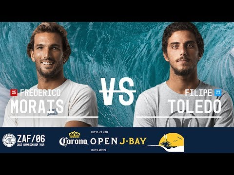 Frederico Morais vs. Filipe Toledo - FINAL - Corona Open J-Bay 2017