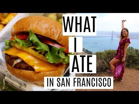 WHAT I EAT IN SAN FRANCISCO | VEGAN