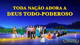 """Teatro musical gospel """"Toda nação adora a Deus Todo-Poderoso"""" Vídeo cristão (Trailer)"""