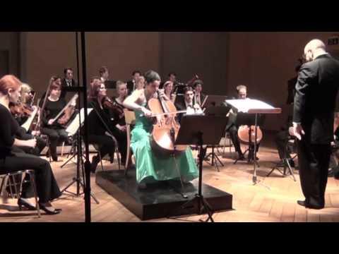 Jean-Luc Darbellay, Pranam IV - Estelle Revaz, cello - Facundo Agudin, Orchestre MdL