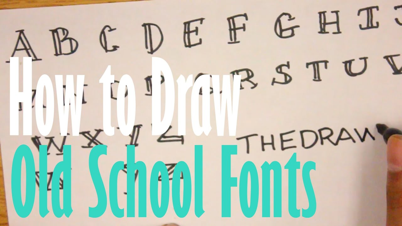 how to draw fronts and headings
